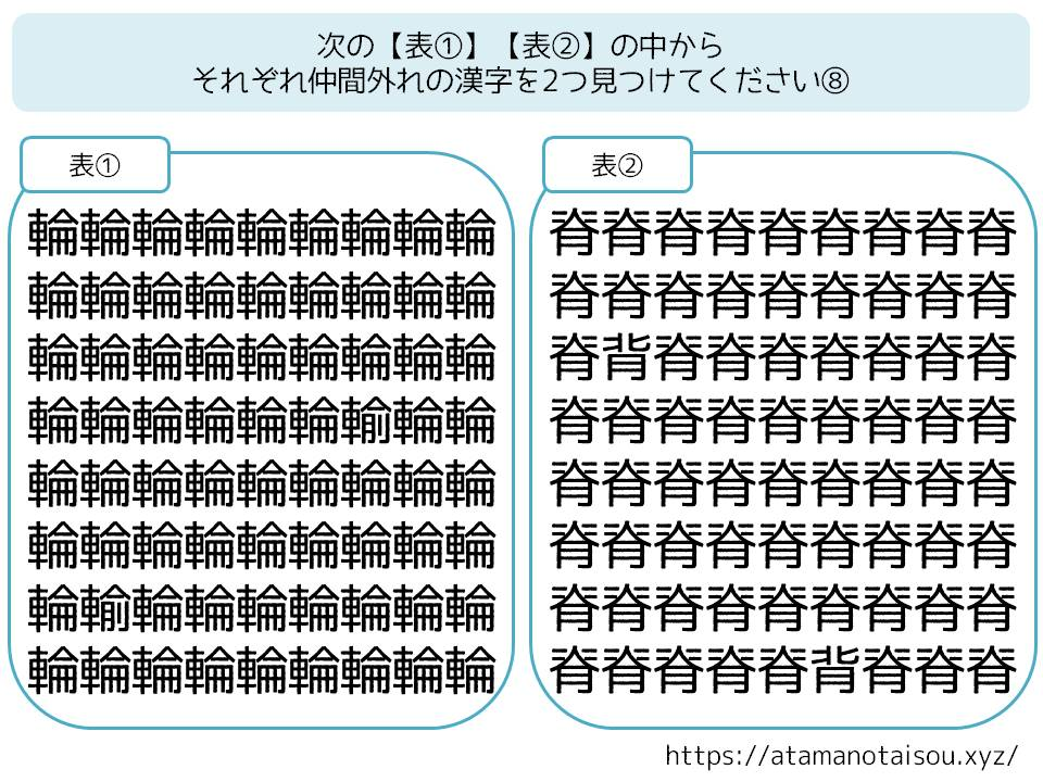 高齢者向け脳トレプリント無料 漢字